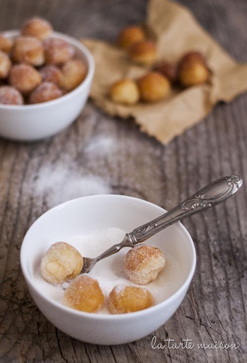 Castagnole crema