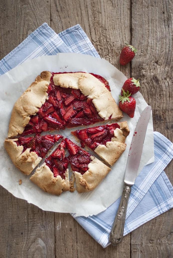 Galette fraise