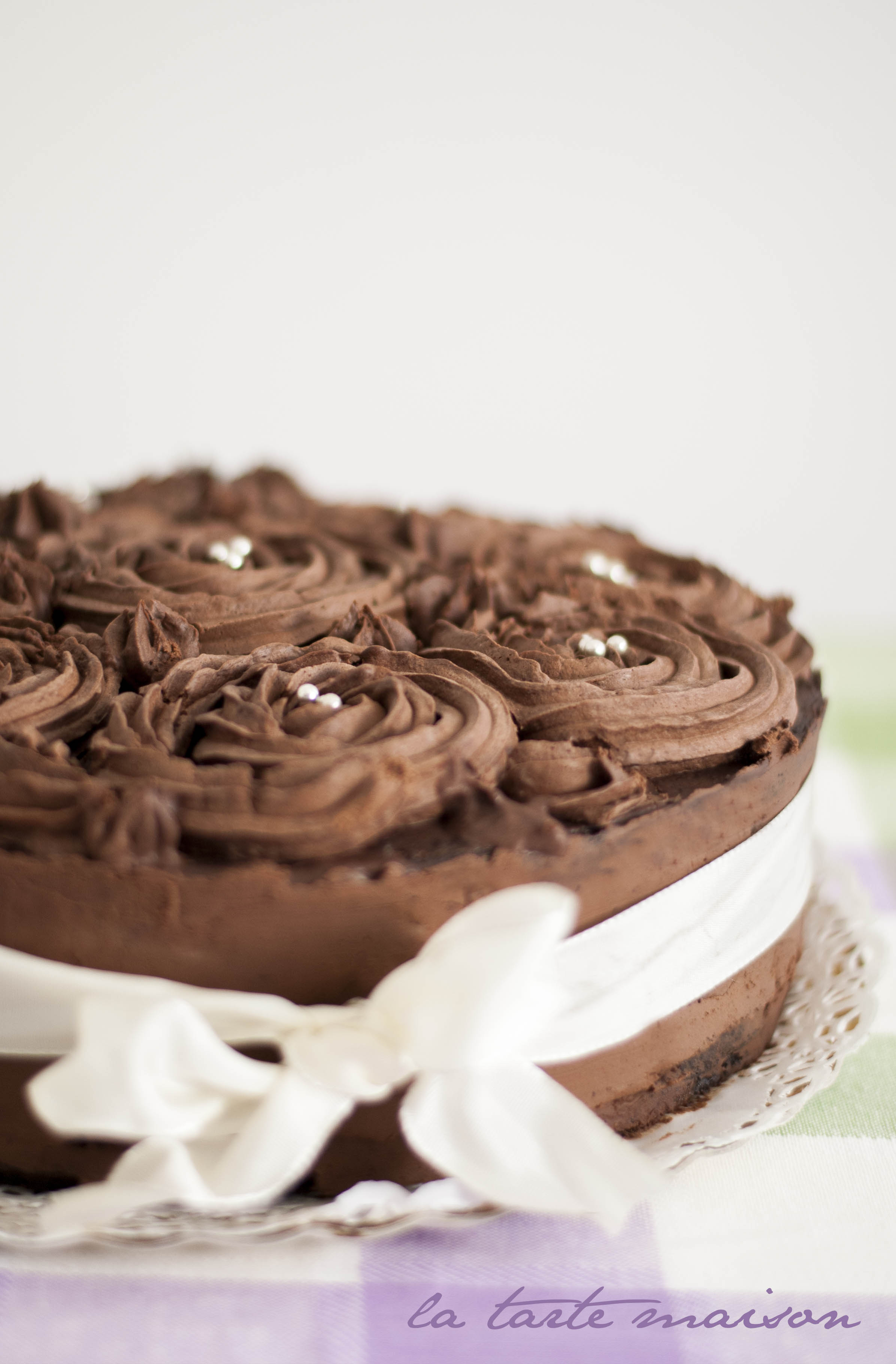 Torta Di Compleanno Al Cioccolato La Tarte Maison