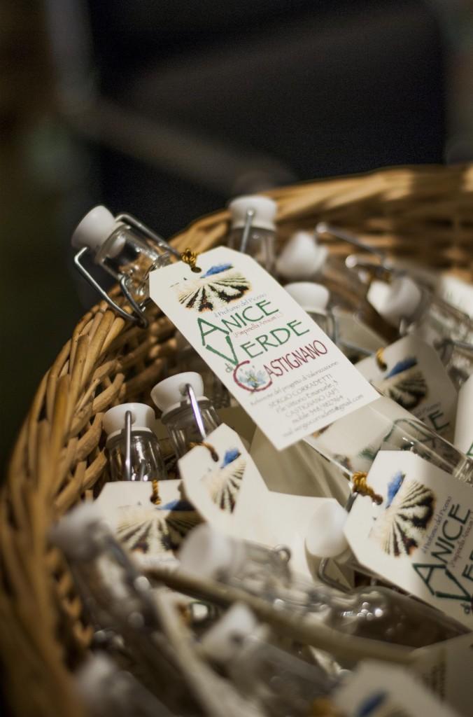 Liquore anice verde Castignano