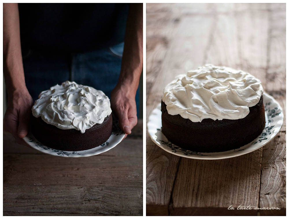 Collage Guinness cake Latartemaison