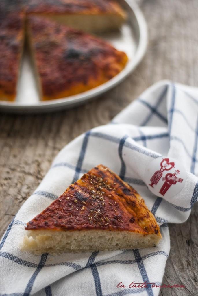 focaccia rossa La tarte maison