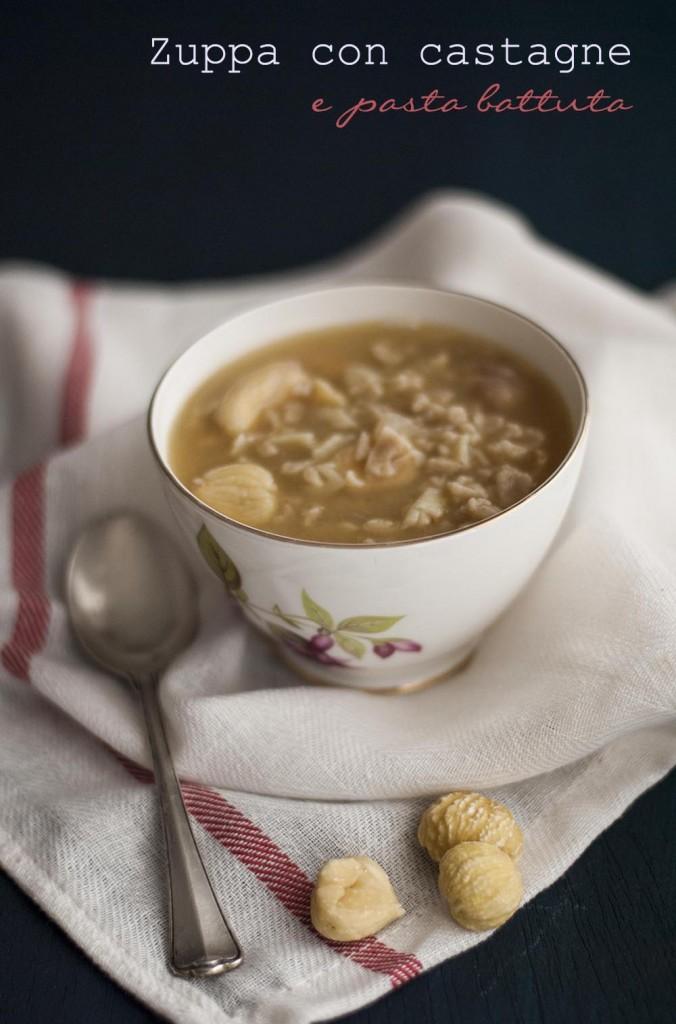 Zuppa di castagne con pasta battuta_latartemaison