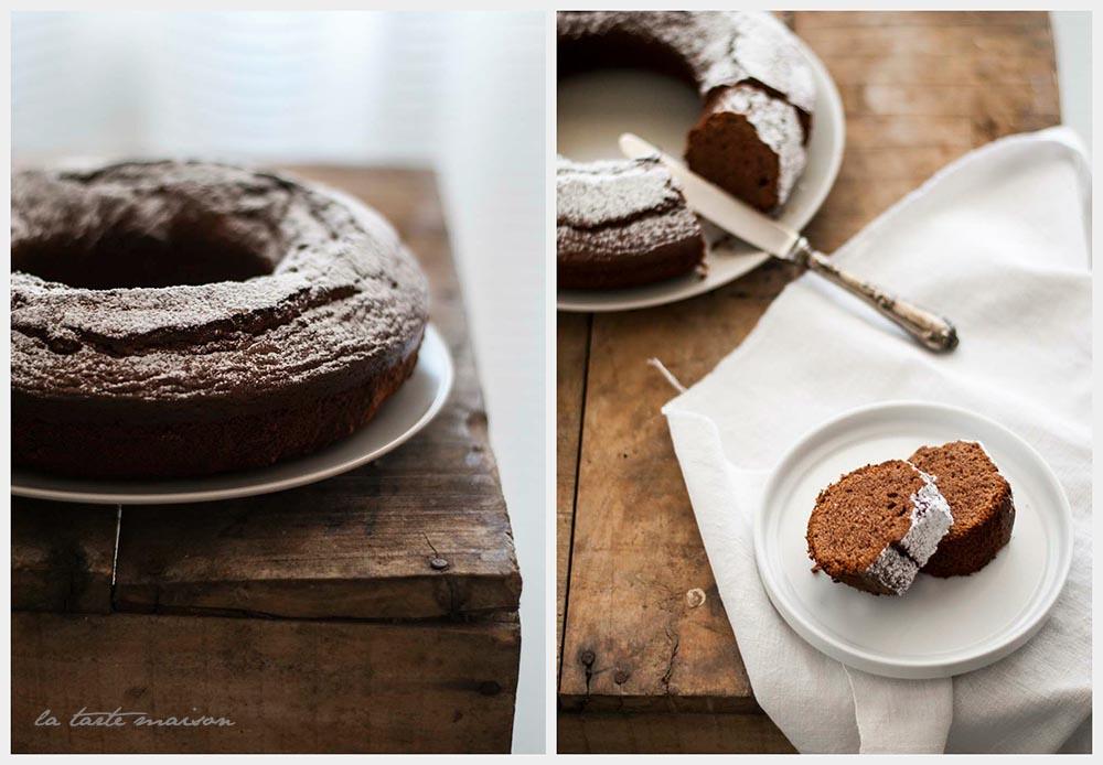 Cake cioccolato al latte e sale di Cervia