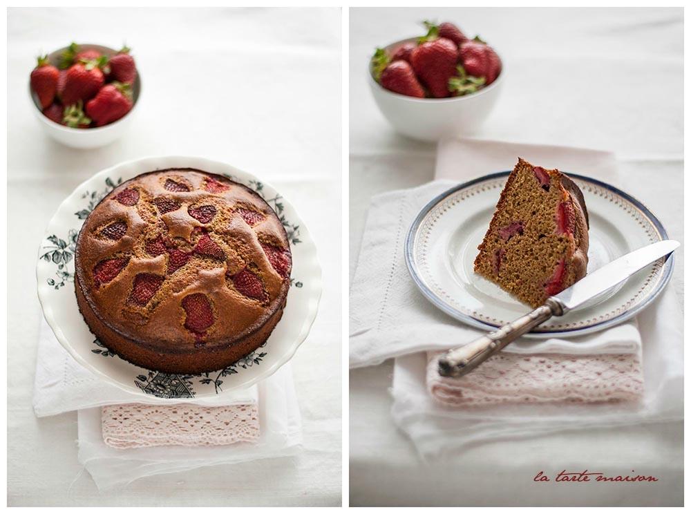 Torta rustica fragole