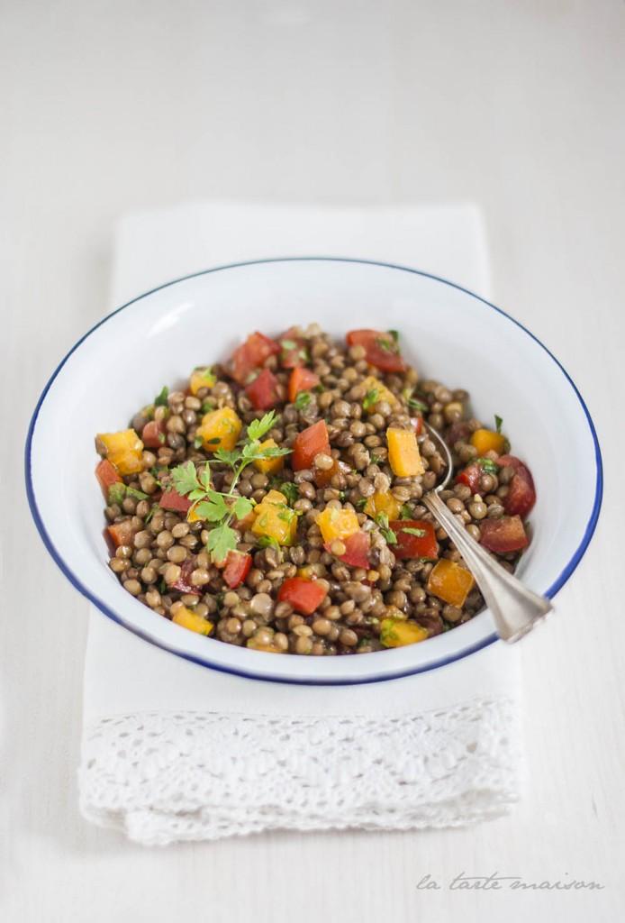 Insalata lenticchie