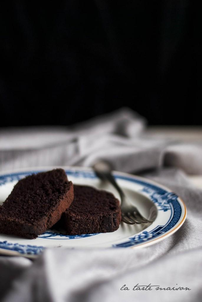 Torta nera al vino rosso la tarte maison