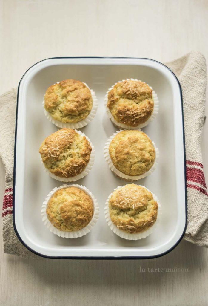Muffins cocco rapé