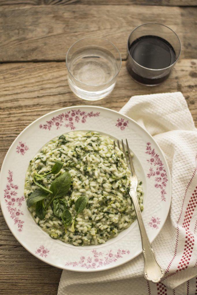 risotto-spinaci-squacquerone