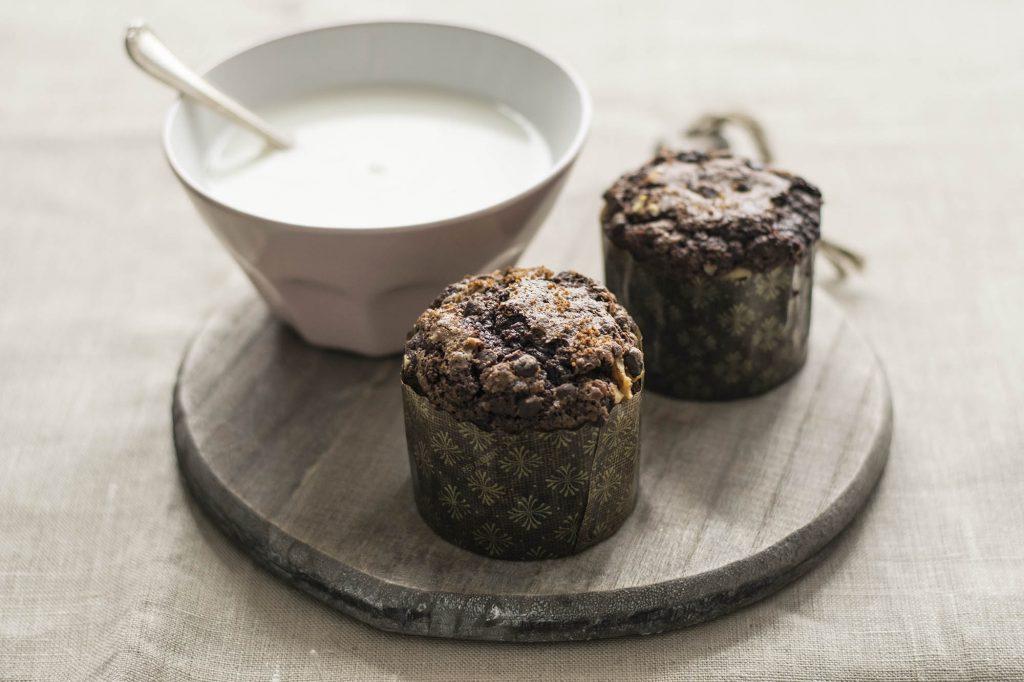Muffin cioccolato caffè