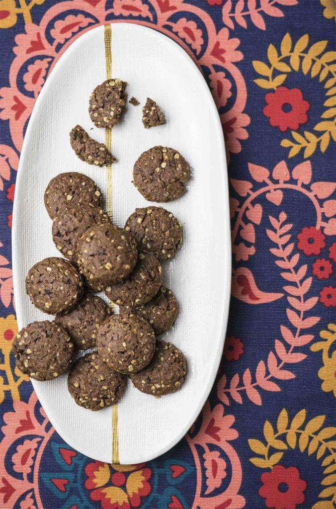 Biscotti avena e cacao