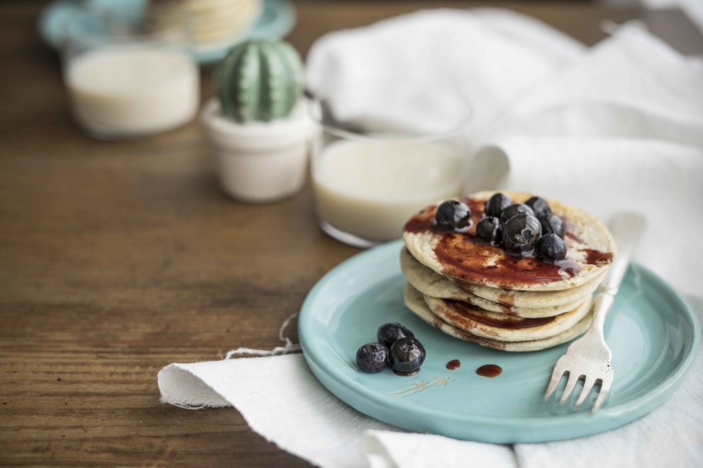 Pancake proteici senza latte