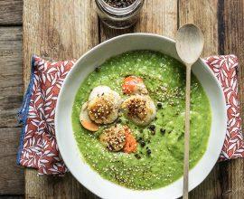 Crema di broccoli e capesante
