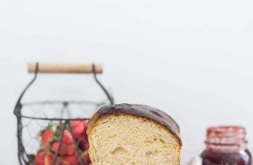 Pan brioche in cassetta semplice